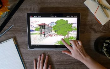 Mental Canvas 3D drawing app is reason enough to buy a Surface Dial