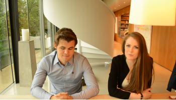 Magnus Carlsen Rounds Up the World Blitz Chess Championship Results with Play Magnus CEO Kate Murphy