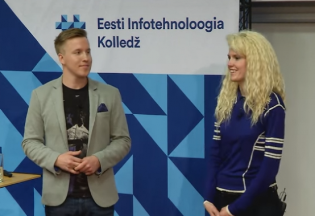 """Kristel Viidik ja Marko Kruustük: """"IT Kolledžist edukaks IT-ettevõtjaks"""""""