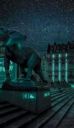 Glow-in-the-dark Bacterial Lights Could Illuminate Shop Windows