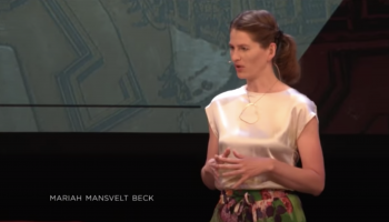Life isn't about what happens to you | Mariah Mansvelt Beck | TEDxZwolle