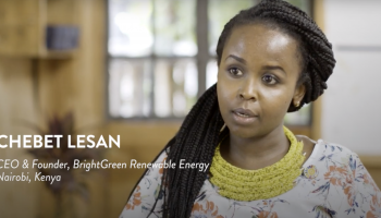 Chebet Lesan – BrightGreen Renewable Energy – 2019 Finalist for Sub-Saharan Africa