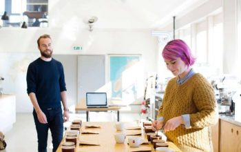 Talor & Jørgen Open A New Roastery And Cafe Space In Oslo