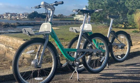 London's Getting Another Dockless Bike – But This One Has Lasers