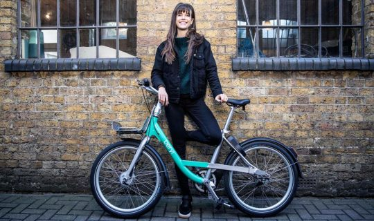 Beryl Bikes Boss Emily Brooke Wants City Workers To Get Into The Saddle