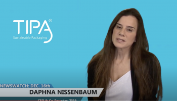 TIPA – Compostable Plastic Packaging on discovery channel