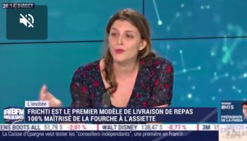 Julia Bijaoui (Frichti) : Frichti Se Lance Dans La Restauration Collective Avec Sa Cantine 2.0 – 18/02