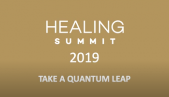 Speaker Sarah Collins at the HEALING SUMMIT 2019